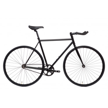 Fixie State Bicycle - Matte Black 6