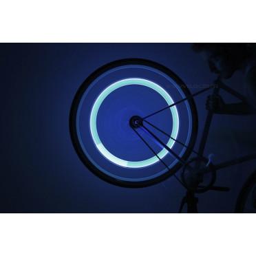 Bouchon de Valve LED Vélo