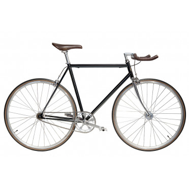 Vélo Single Speed JITENSHA Black