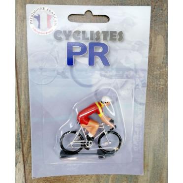 Figurine cycliste Roger - Champion d'Espagne