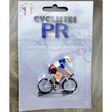 Figurine cycliste Roger - Champion de France