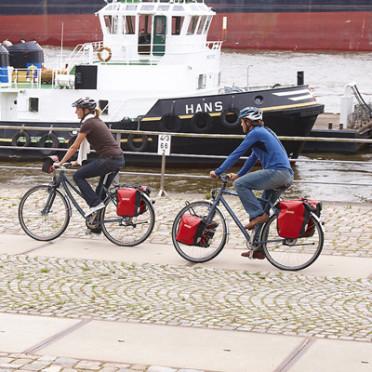 Paire de Sacoches Vélo ORTLIEB Sport-Roller City pour Porte-Bagages