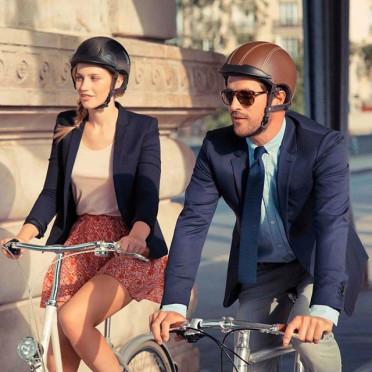 Casque de vélo urbain EGIDE ATLAS Ebène