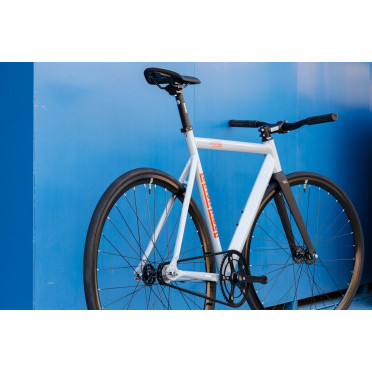 Fixie State Bicycle - Black Label V2 - Pigeon Gray