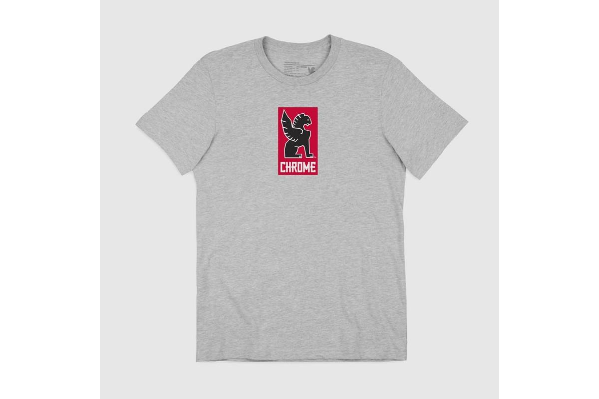 T-Shirt Chrome Lock Up - Gris