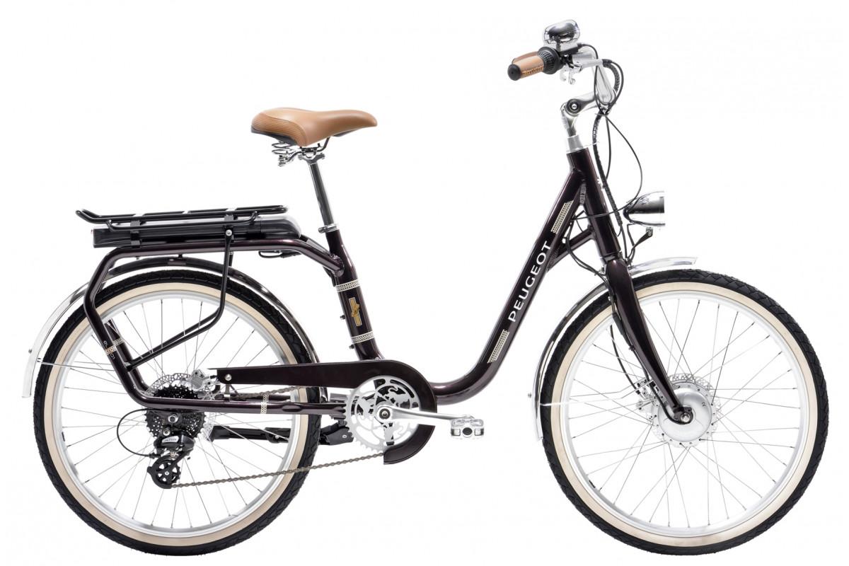 Vélo Électrique Peugeot eLC01 e-LEGEND - Aubergine