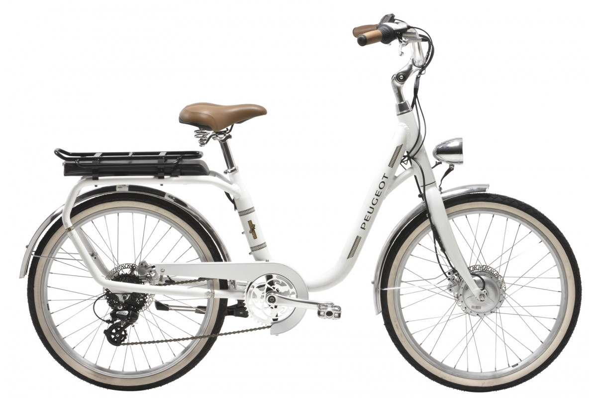 Vélo Électrique Peugeot eLC01 e-LEGEND - Blanc
