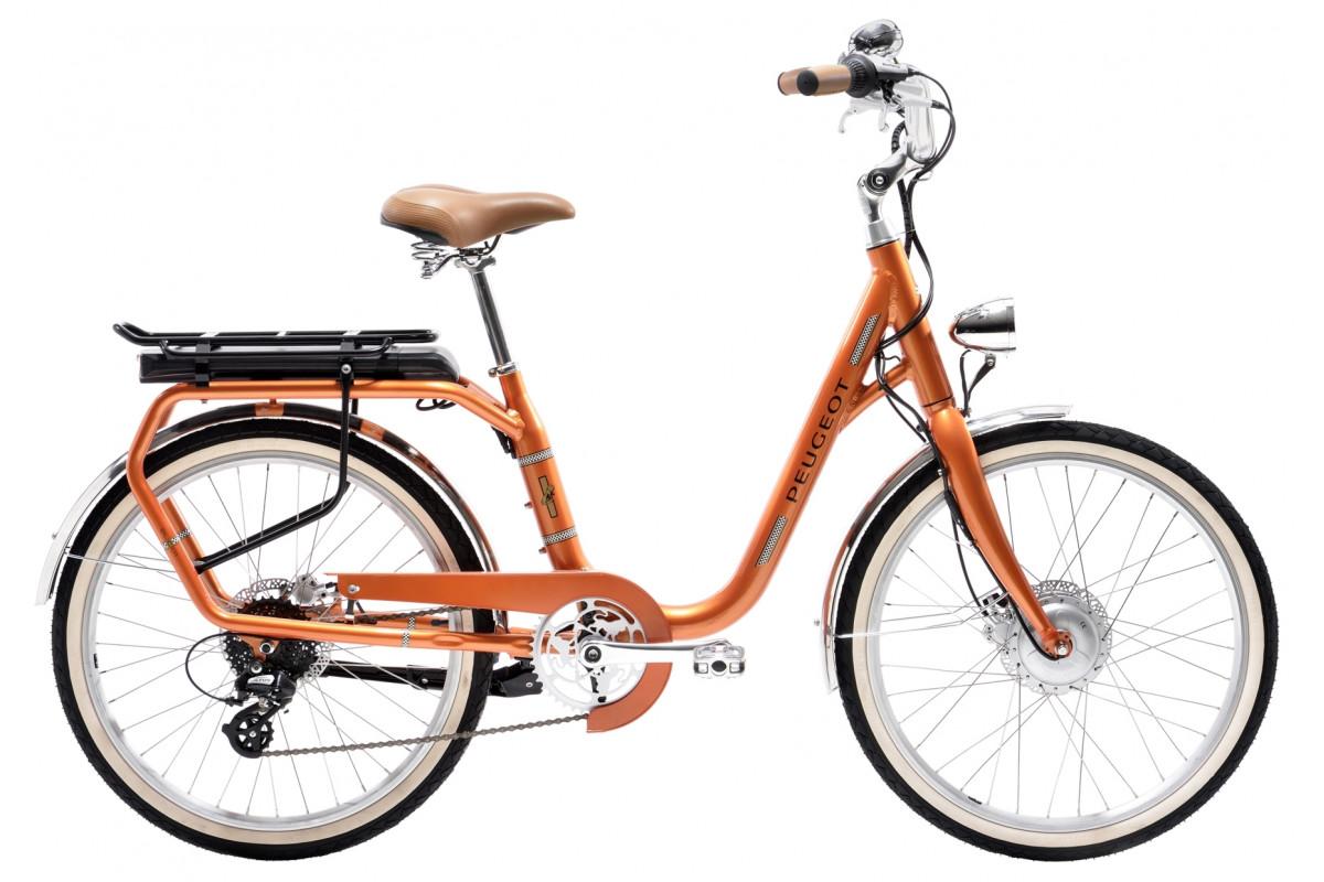 Vélo Électrique Peugeot eLC01 e-LEGEND - Orange