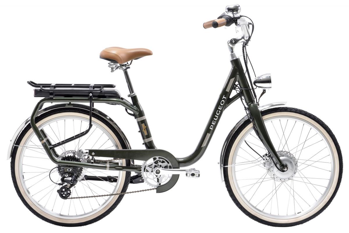 Vélo Électrique Peugeot eLC01 e-LEGEND - Vert Foncé