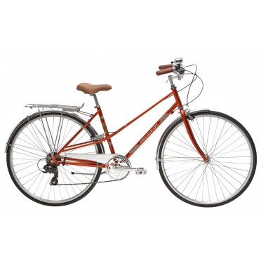Vélo de ville Peugeot LC01 D7 LEGEND - Orange