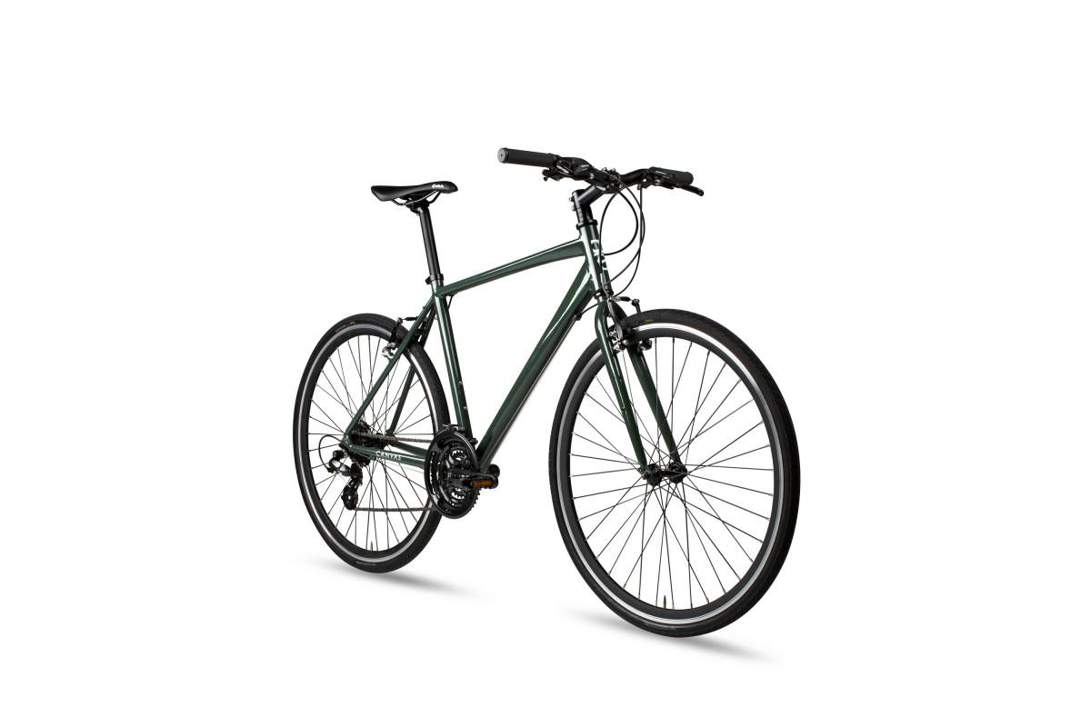 Vélo Hybride 6KU Canvas - Deep Forest