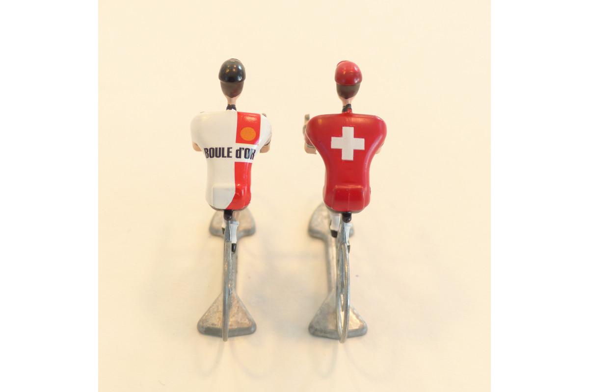 Figurine Cycliste - Boule d'Or X Suisse