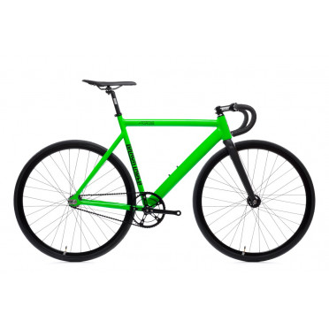 Fixie State Bicycle - Black Label V2 - Zombie Green