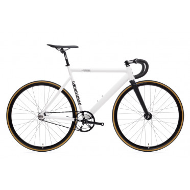 Fixie State Bicycle - Black Label V2 - Pearl White