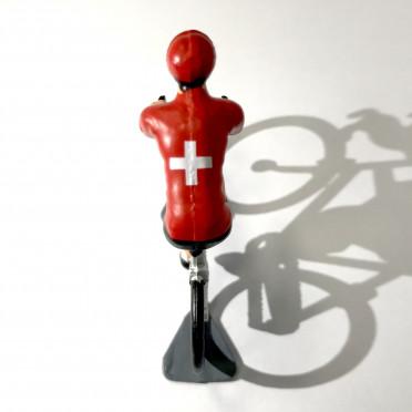 Figurine cycliste Roger - Champion Suisse