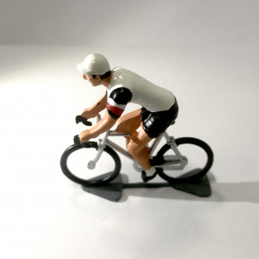 Petit cycliste Figurine Cycling figure Mapei