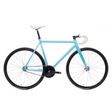 Fixie / Singlespeed STATE BICYCLE UNDEFEATED II Photon Blue Edition