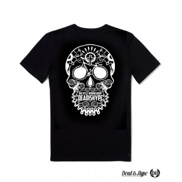 "T-shirt Dead is Hype ""Skull Head"" Noir"
