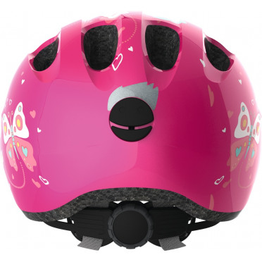 Casque Vélo Enfant ABUS Smiley 2.0 Pink Butterfly