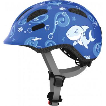 Casque Vélo Enfant ABUS Smiley 2.0 Blue Sharky