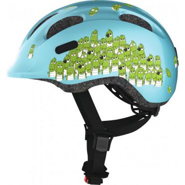 Casque Vélo Enfant ABUS Smiley 2.0 Blue Croco
