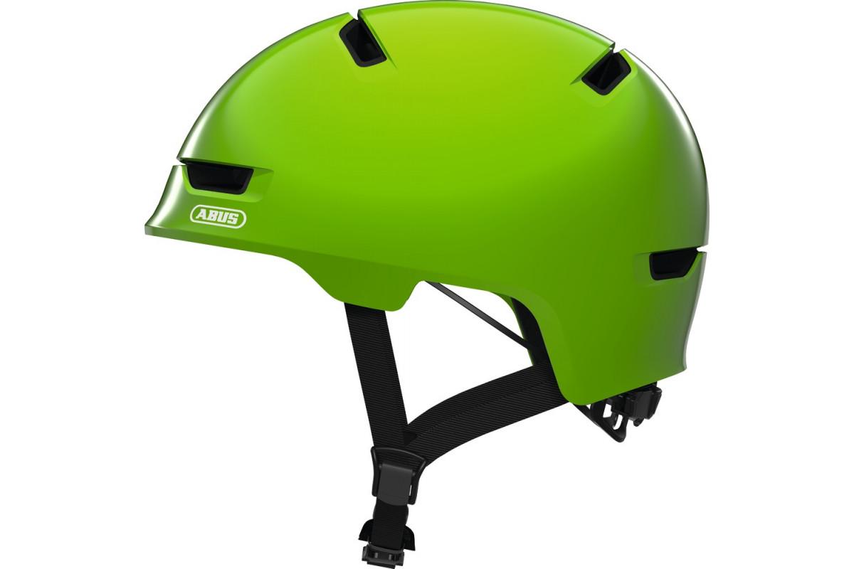 Casque Vélo Enfant ABUS Scraper Kid 3.0 Shiny Green