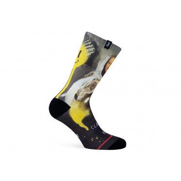 Paire de chaussettes cycliste PACIFIC & CO - Moona Lisa