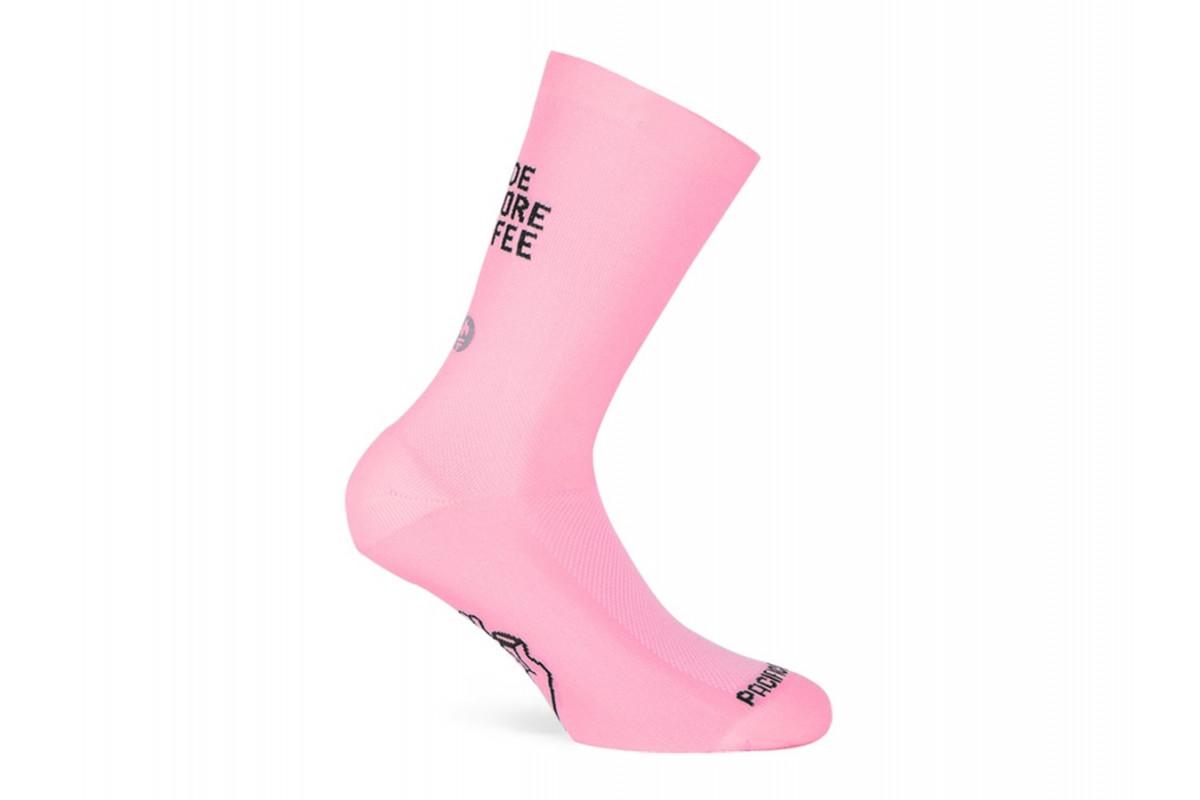 Paire de chaussettes cycliste PACIFIC & CO - Coffee