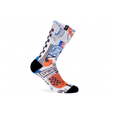 Paire de chaussettes cycliste PACIFIC & CO - Speed Racer