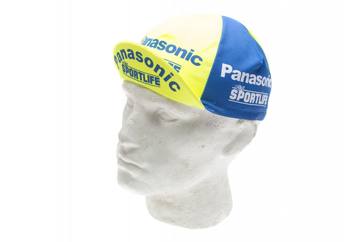 Casquette cycliste vintage - Panasonic Sportlife