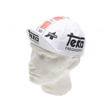 Casquette cycliste vintage - Teka Fregaderos