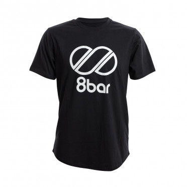 T-Shirt 8BAR Logo Noir