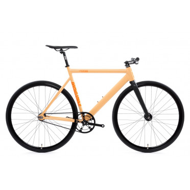Fixie State Bicycle - Black Label V2 - Peach Orange