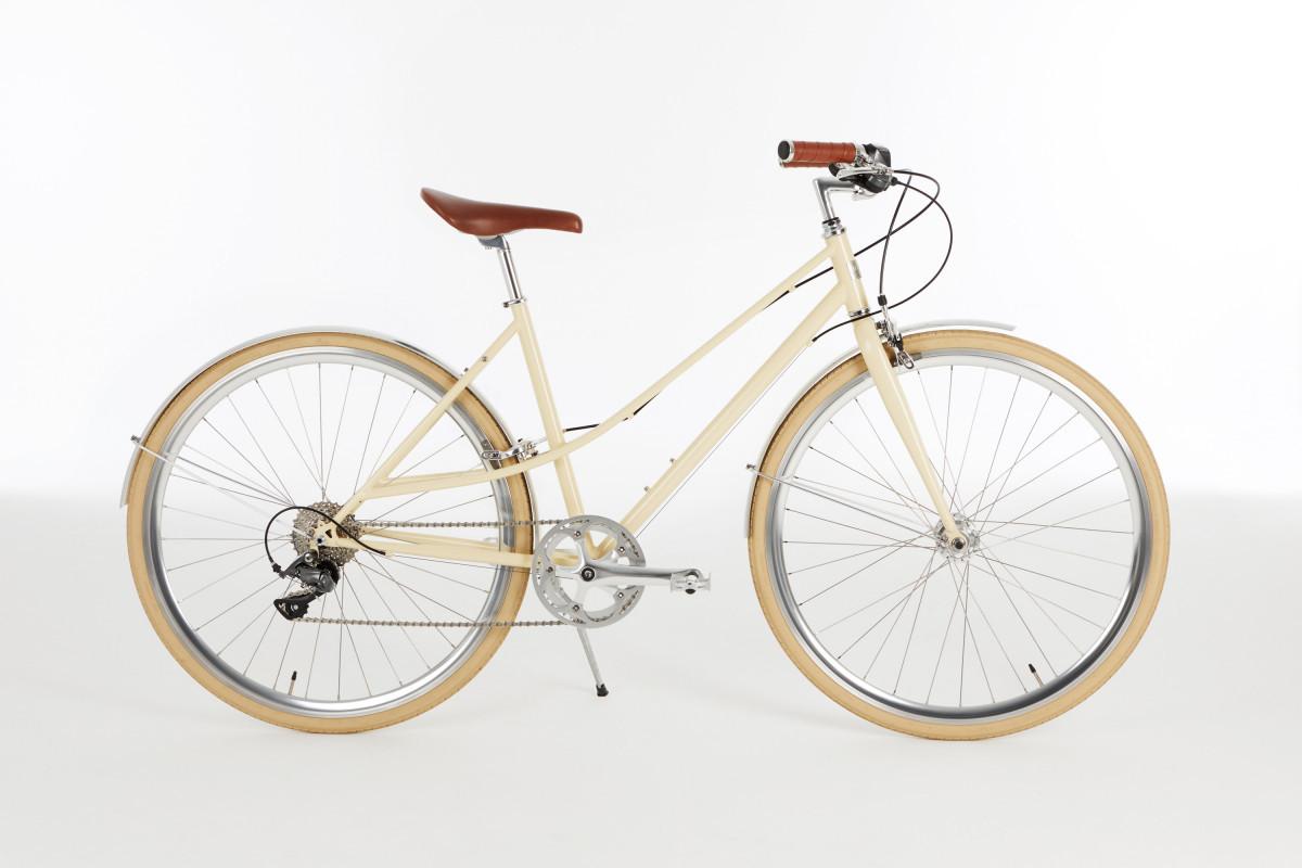 Vélo Urbain IN FINE Flaneuse Creme