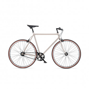 Vélo de ville BIKEID Diamond 7 - Brushed Nickel