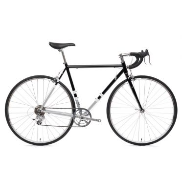 Vélo de route STATE BICYCLE 4130 ROAD BLACK & METALLIC