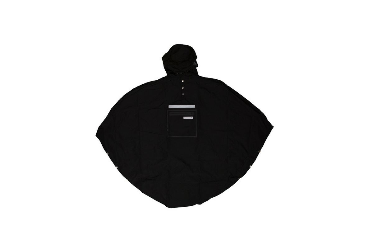 Poncho Imperméable The People's Poncho 3.0 Hardy Noir