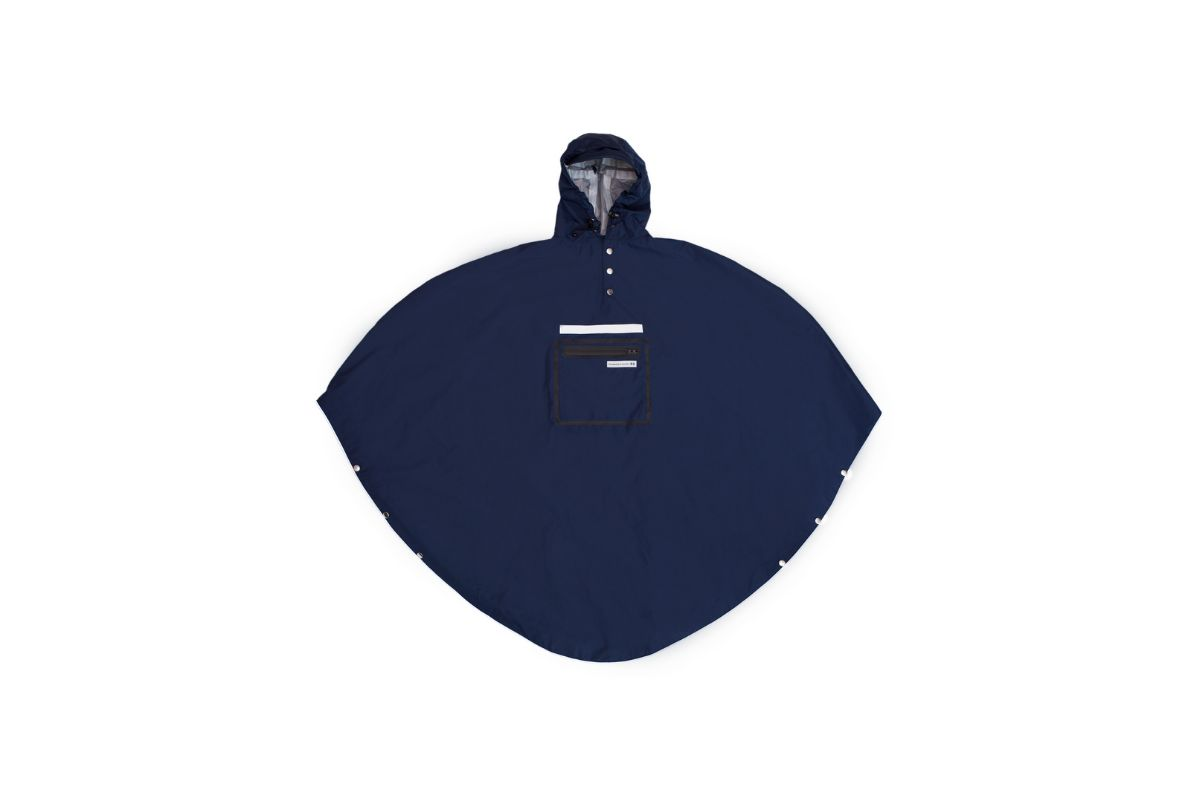 Poncho Imperméable The People's Poncho 3.0 Hardy Bleu Marine