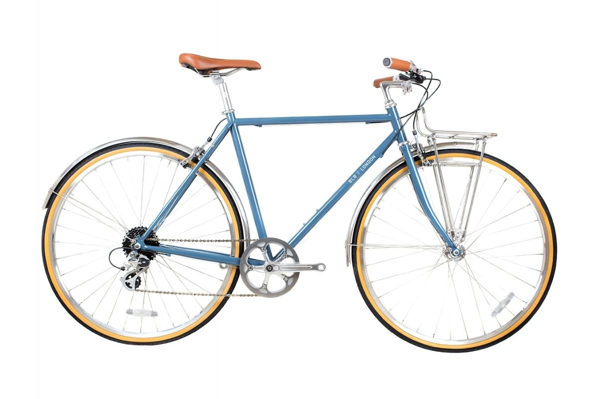 Vélo de Ville BLB Beetle 8SPD Bleu