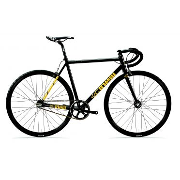 Vélo Fixie / Singlespeed Cinelli Tipo Pista Black Gold