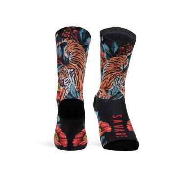 Paire De Chaussettes Cycliste PACIFIC & CO - Savage - Black