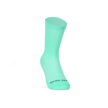 Paire De Chaussettes Cycliste PACIFIC & CO - Good Vibes - Mint