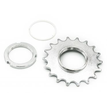 Pack Pignon Fixie BeastyBike Eco 18 Dents et Contre Ecrou BeastyBike Eco