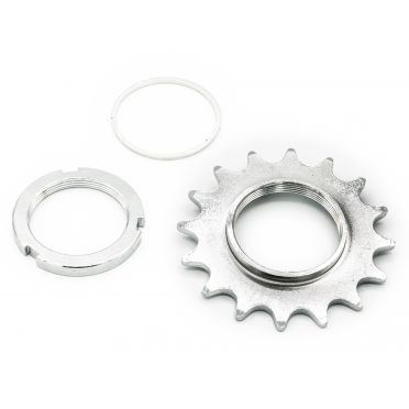 Pack Pignon Fixie BeastyBike Eco 16 Dents et Contre Ecrou BeastyBike Eco