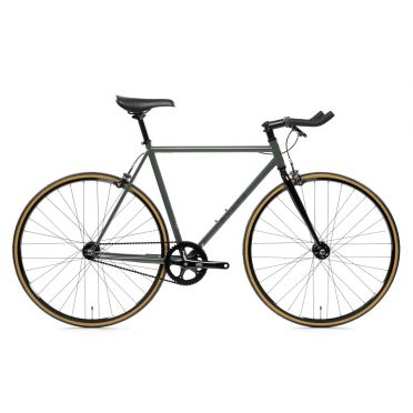 Vélo Fixie / Singlespeed State Bicycle - 4130 - Army Green