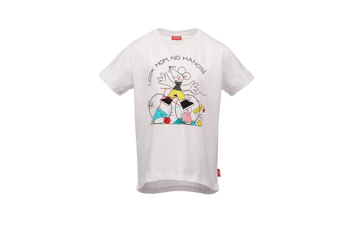 T-shirt Enfant WOOM Look Mom