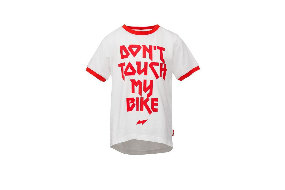 T-shirt Enfant WOOM Don't Touch My Bike