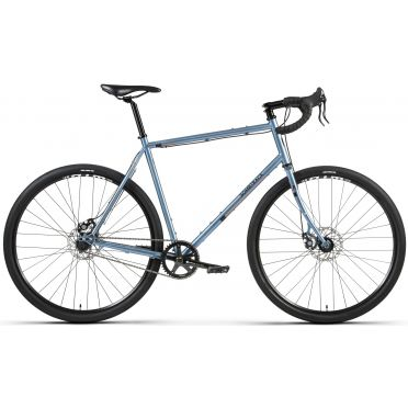 Vélo gravel singlespeed Bombtrack Arise Pearl Blue - 2021
