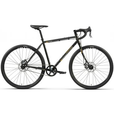 Vélo gravel singlespeed Bombtrack Arise Coffee Black - 2021