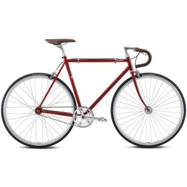 Vélo fixie / singlespeed Fuji Feather Brick Red - 2021